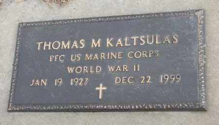 KALTSULAS, THOMAS M. (WW II) - Clay County, South Dakota | THOMAS M. (WW II) KALTSULAS - South Dakota Gravestone Photos