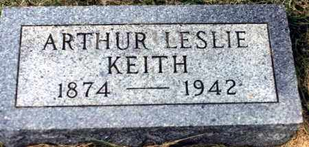 KEITH, ARTHUR LESLIE - Clay County, South Dakota | ARTHUR LESLIE KEITH - South Dakota Gravestone Photos