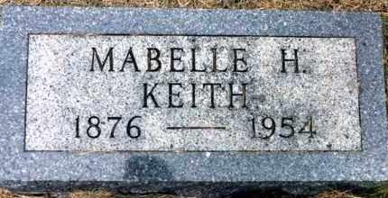 KEITH, MABELLE HARDIN - Clay County, South Dakota | MABELLE HARDIN KEITH - South Dakota Gravestone Photos