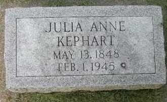 KEPHART, JULIA ANNE - Clay County, South Dakota | JULIA ANNE KEPHART - South Dakota Gravestone Photos