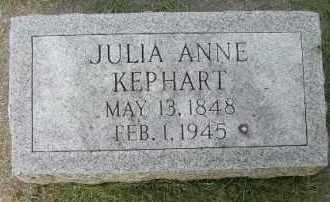 KEPHART, JULIA ANNE - Clay County, South Dakota   JULIA ANNE KEPHART - South Dakota Gravestone Photos