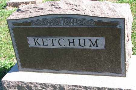 KETCHUM, FAMILY STONE - Clay County, South Dakota | FAMILY STONE KETCHUM - South Dakota Gravestone Photos