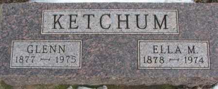 KETCHUM, GLENN - Clay County, South Dakota   GLENN KETCHUM - South Dakota Gravestone Photos
