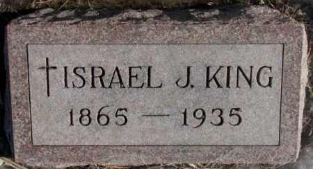 KING, ISRAEL J. - Clay County, South Dakota | ISRAEL J. KING - South Dakota Gravestone Photos
