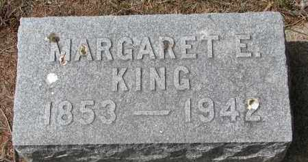 KING, MARGARET E. - Clay County, South Dakota | MARGARET E. KING - South Dakota Gravestone Photos