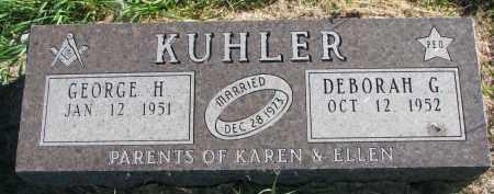 KUHLER, DEBORAH G. - Clay County, South Dakota | DEBORAH G. KUHLER - South Dakota Gravestone Photos