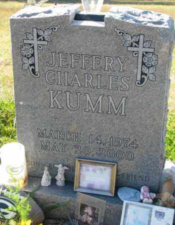 KUMM, JEFFERY CHARLES - Clay County, South Dakota   JEFFERY CHARLES KUMM - South Dakota Gravestone Photos