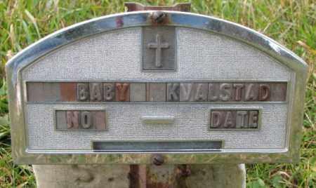 KVALSTAD, BABY - Clay County, South Dakota | BABY KVALSTAD - South Dakota Gravestone Photos