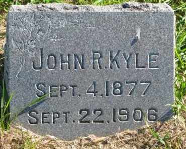 KYLE, JOHN R. - Clay County, South Dakota | JOHN R. KYLE - South Dakota Gravestone Photos