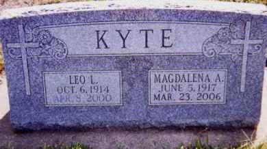 KYTE, MAGDALENA A. - Clay County, South Dakota | MAGDALENA A. KYTE - South Dakota Gravestone Photos