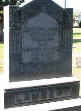 LAMBERT, ADOLPHUS - Clay County, South Dakota | ADOLPHUS LAMBERT - South Dakota Gravestone Photos