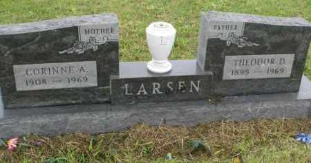 LARSEN, CORRINE A. - Clay County, South Dakota | CORRINE A. LARSEN - South Dakota Gravestone Photos