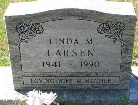 LARSEN, LINDA M. - Clay County, South Dakota | LINDA M. LARSEN - South Dakota Gravestone Photos