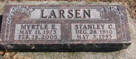 LARSEN, STANLEY C. - Clay County, South Dakota | STANLEY C. LARSEN - South Dakota Gravestone Photos