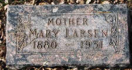 LARSEN, MARY - Clay County, South Dakota   MARY LARSEN - South Dakota Gravestone Photos