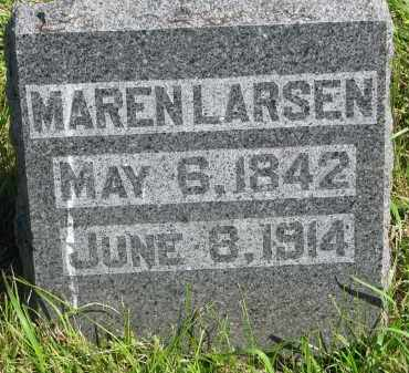 LARSEN, MAREN - Clay County, South Dakota | MAREN LARSEN - South Dakota Gravestone Photos