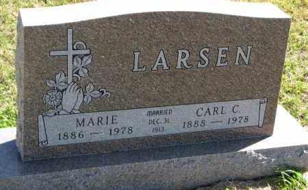 LARSEN, MARIE - Clay County, South Dakota   MARIE LARSEN - South Dakota Gravestone Photos