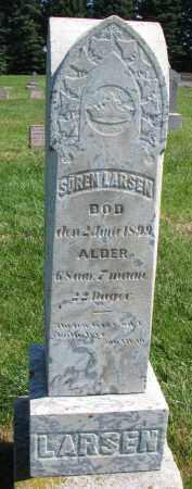 LARSEN, SOREN - Clay County, South Dakota | SOREN LARSEN - South Dakota Gravestone Photos