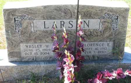 LARSEN, WESLEY M. - Clay County, South Dakota | WESLEY M. LARSEN - South Dakota Gravestone Photos