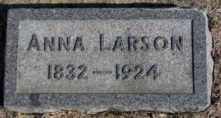 LARSON, ANNA - Clay County, South Dakota   ANNA LARSON - South Dakota Gravestone Photos
