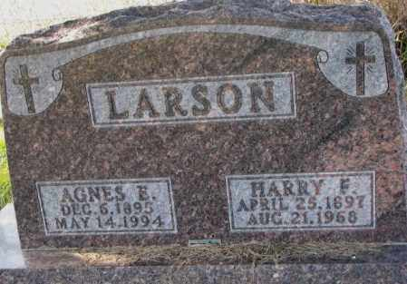 LARSON, HARRY F. - Clay County, South Dakota | HARRY F. LARSON - South Dakota Gravestone Photos
