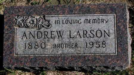 LARSON, ANDREW - Clay County, South Dakota | ANDREW LARSON - South Dakota Gravestone Photos