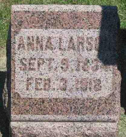 LARSON, ANNA - Clay County, South Dakota | ANNA LARSON - South Dakota Gravestone Photos
