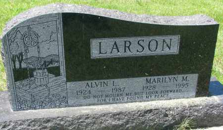 LARSON, ALVIN L. - Clay County, South Dakota | ALVIN L. LARSON - South Dakota Gravestone Photos