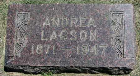 LARSON, ANDREA - Clay County, South Dakota   ANDREA LARSON - South Dakota Gravestone Photos