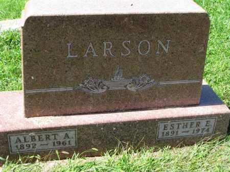LARSON, ALBERT A. - Clay County, South Dakota | ALBERT A. LARSON - South Dakota Gravestone Photos