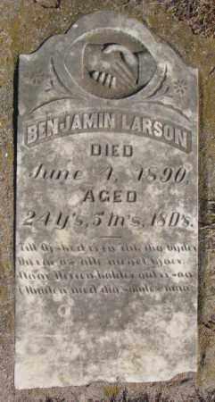 LARSON, BENJAMIN - Clay County, South Dakota | BENJAMIN LARSON - South Dakota Gravestone Photos