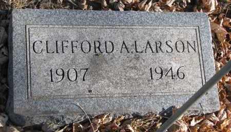 LARSON, CLIFFORD A. - Clay County, South Dakota | CLIFFORD A. LARSON - South Dakota Gravestone Photos