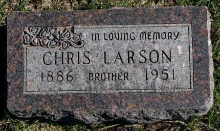 LARSON, CHRIS - Clay County, South Dakota | CHRIS LARSON - South Dakota Gravestone Photos