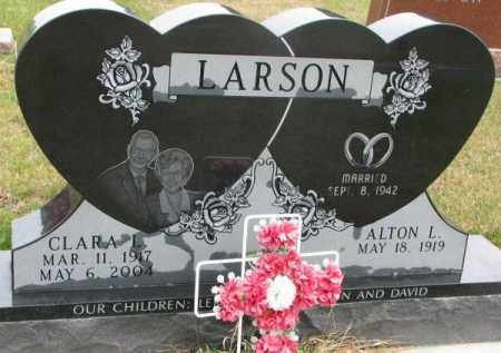 LARSON, CLARA L. - Clay County, South Dakota | CLARA L. LARSON - South Dakota Gravestone Photos