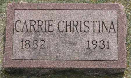 LARSON, CARRIE CHRISTINA - Clay County, South Dakota | CARRIE CHRISTINA LARSON - South Dakota Gravestone Photos