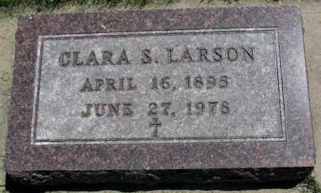 LARSON, CLARA S. - Clay County, South Dakota   CLARA S. LARSON - South Dakota Gravestone Photos