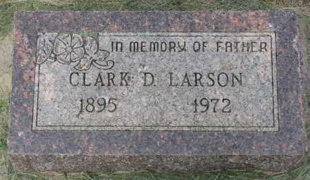 LARSON, CLARK D. - Clay County, South Dakota | CLARK D. LARSON - South Dakota Gravestone Photos