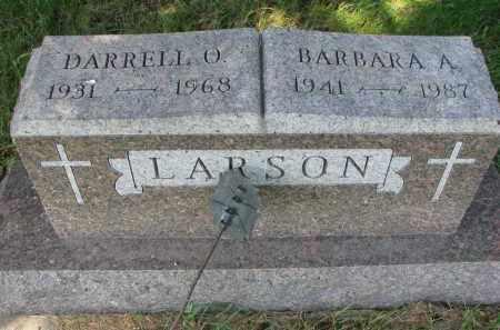 LARSON, DARRELL O. - Clay County, South Dakota   DARRELL O. LARSON - South Dakota Gravestone Photos