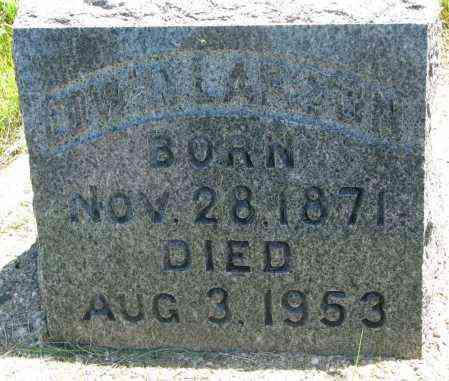 LARSON, EDWIN - Clay County, South Dakota | EDWIN LARSON - South Dakota Gravestone Photos