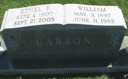 LARSON, ETHEL F. - Clay County, South Dakota   ETHEL F. LARSON - South Dakota Gravestone Photos