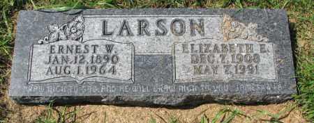 LARSON, ELIZABETH E. - Clay County, South Dakota | ELIZABETH E. LARSON - South Dakota Gravestone Photos