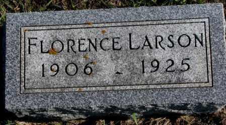 LARSON, FLORENCE - Clay County, South Dakota | FLORENCE LARSON - South Dakota Gravestone Photos