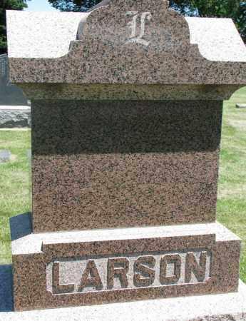 LARSON, FAMILY STONE - Clay County, South Dakota | FAMILY STONE LARSON - South Dakota Gravestone Photos