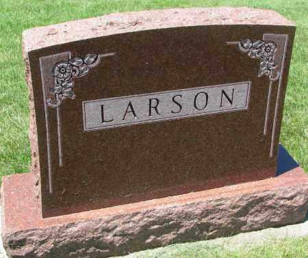LARSON, FAMILY STONE - Clay County, South Dakota   FAMILY STONE LARSON - South Dakota Gravestone Photos