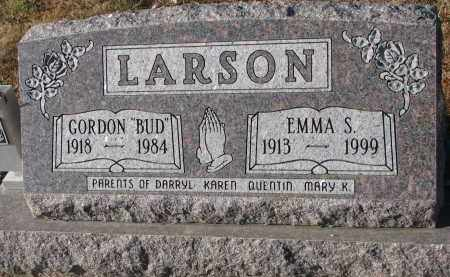 LARSON, EMMA S. - Clay County, South Dakota | EMMA S. LARSON - South Dakota Gravestone Photos
