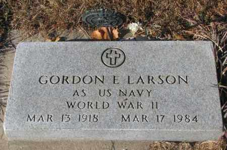 LARSON, GORDON E. (WW II) - Clay County, South Dakota | GORDON E. (WW II) LARSON - South Dakota Gravestone Photos