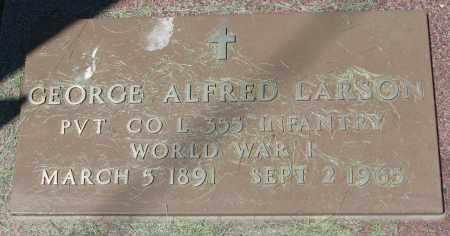 LARSON, GEORGE ALFRED - Clay County, South Dakota | GEORGE ALFRED LARSON - South Dakota Gravestone Photos