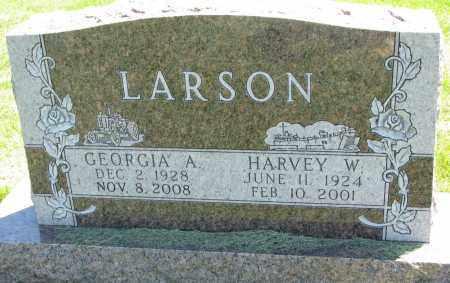 LARSON, HARVEY W. - Clay County, South Dakota   HARVEY W. LARSON - South Dakota Gravestone Photos