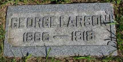 LARSON, GEORGE - Clay County, South Dakota | GEORGE LARSON - South Dakota Gravestone Photos