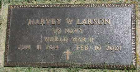 LARSON, HARVEY W. (WW II) - Clay County, South Dakota | HARVEY W. (WW II) LARSON - South Dakota Gravestone Photos